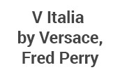 V Italia by Versace, Fred Perry